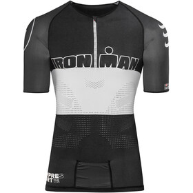 Compressport TR3 Aero Triathlon Top Unisex Ironman Edition Stripes Black